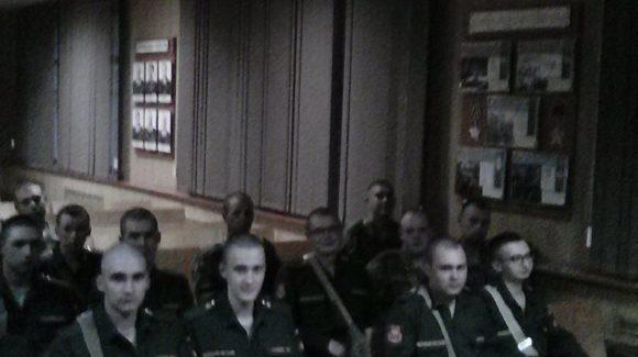 Лекции по профилактике употребления ПАВ в войсковой части г. Казани