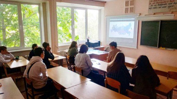 Два профилактических урока в 10 и 11 классах школы №33 г.Волгограда