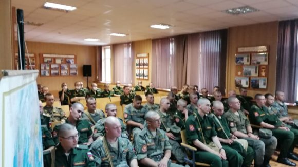 Лекции по профилактике курения, наркомании в войсковой части г. Казани