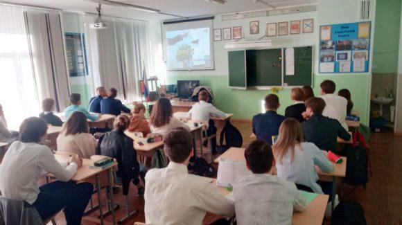 Три урока ОБЖ в лицее №9 г.Волгограда с участием активиста «Общего Дела»
