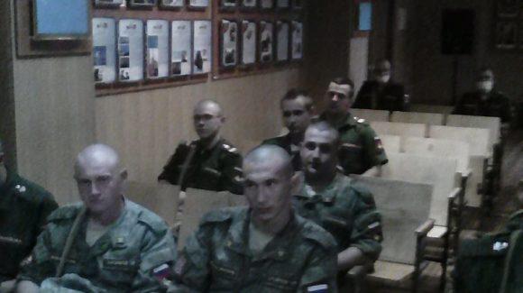 Лекции по профилактике употребления алкоголя и курения в войсковой части г. Казани