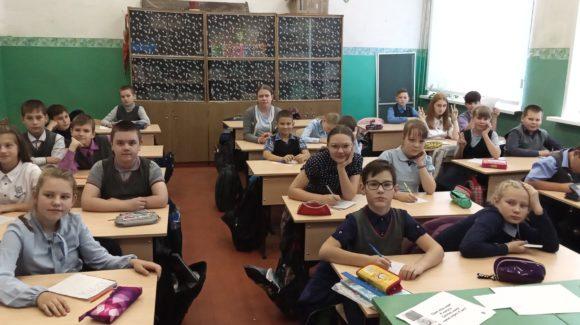 Встречи волонтёра «Общего Дела» с ребятами великоустюгской школы №9