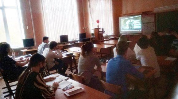 Урок «Общего Дела» в средней школе №43 г.Волгограда