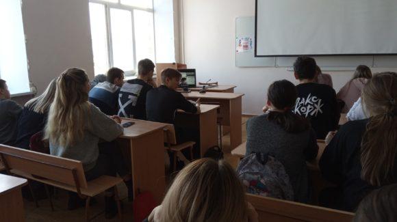 Занятия в Южноуральском энергетическом техникуме в рамках общероссийского конкурса «Здоровая Россия — Общее Дело»