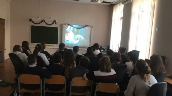 Три занятия по профилактике табакокурения в лицее №71 Ростова-на-Дону