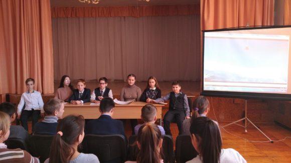 «Путь героя» в средней школе №3 г.Межгорье