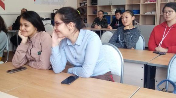 Занятие «Грязные слова» для учеников 9 класса Славянской средней школы