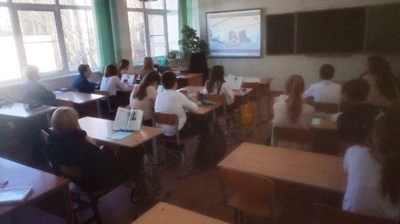 Два профилактических урока в волгоградской средней школе №33