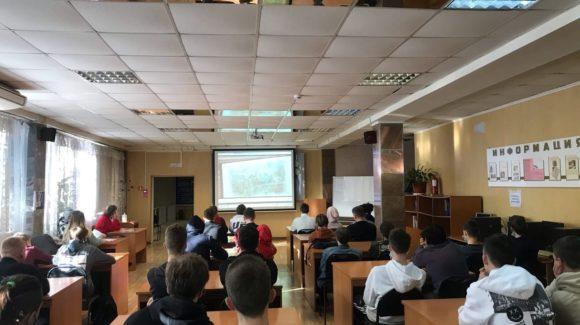 Серия занятий в Дальневосточном государственном гуманитарно-техническом колледже во Владивостоке