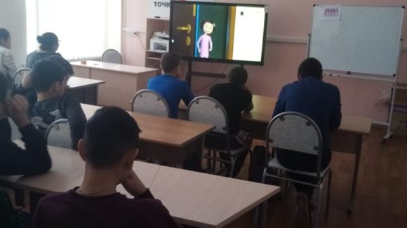 Участницы конкурса «Здоровая Россия — Общее Дело» продолжили серию занятий в МБОУ «Славянская СОШ»