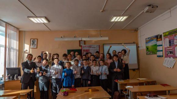 Профилактическое занятие в школе №31 Южно-Сахалинска