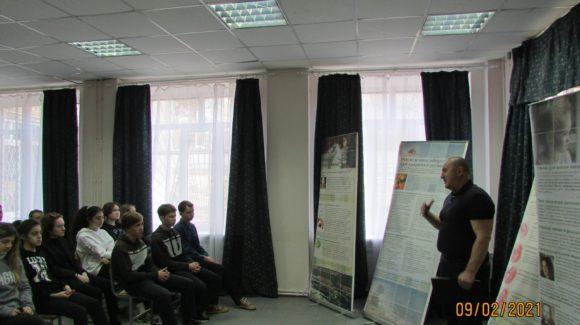 Профилактическая встреча с учащимися кисловодской школы №12