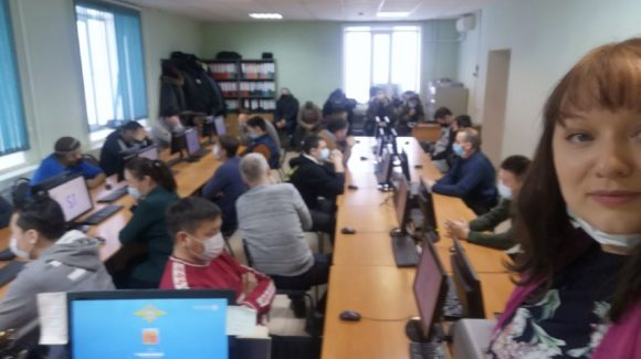 Занятие в ГИБДД для правонарушителей провела координатор «Общего Дела» в Республике Саха (Якутия)