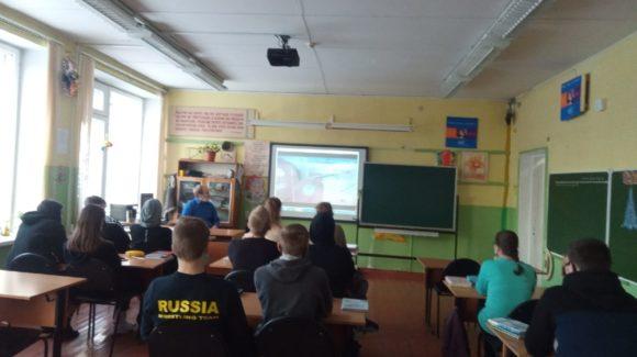 «Общее Дело» приняло участие в Едином Дне профилактики в Ладвинской школе №4 г.Петрозаводск