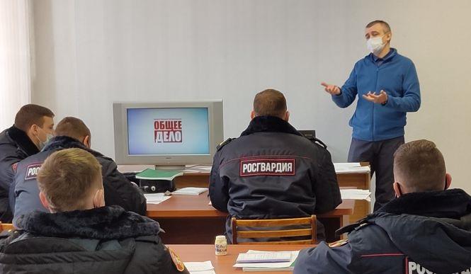 «Общее Дело» приняло участие в профилактических мероприятиях Управления Росгвардии по Вологодской области