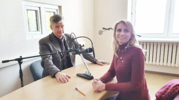Представители московского отделения «Общего Дела» на чукотском радио «Пурга ФМ»