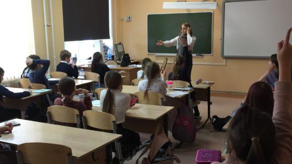 В гимназии №6 города Томска было проведено профилактическое занятие о вреде курения