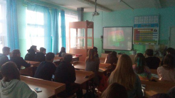 «Общее Дело» на Едином дне профилактики Заозёрской школы №10