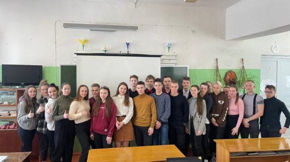 В школе №15 города Красавино прошло семь профилактических занятий