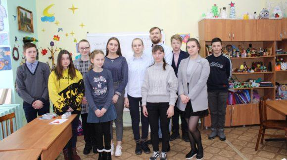 Обучающий семинар для волонтеров — учащихся школ Сусанинского района