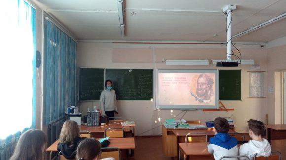 «Общее Дело» приняло участие в Едином дне профилактики в Нововилговской средней школе №3