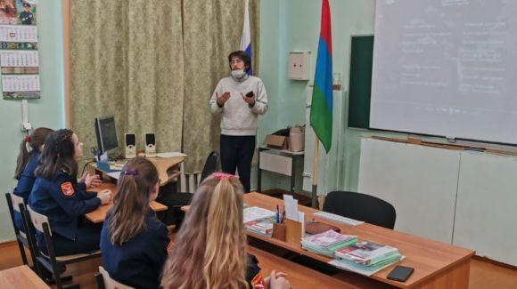 День профилактики в школе №2 поселка Мелиоративный