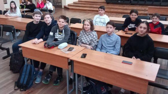 Беседа на тему здорового образа жизни в 7Г классе школы №333 Санкт-Петербурга