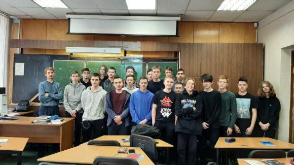 Профилактические занятия в Череповецком металлургическом колледже