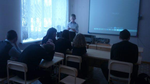 Профилактическое занятие в Сумароковской основной школе Сусанинского района