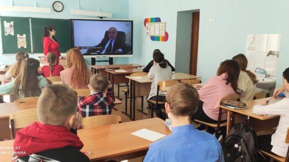 Урок «Секреты манипуляции. Табак» в школе №65 с.Дзержинское Томского района