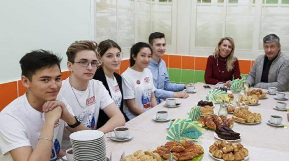 Встреча руководителей московского отделения «Общего Дела» с добровольческой командой «Союз добра 87»