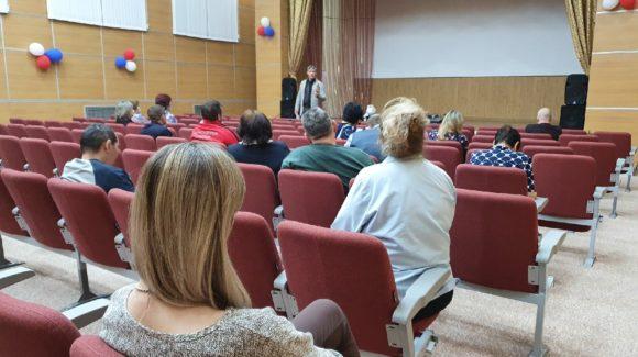 Встреча с педагогами, психологами и социальными работниками Чукотского окружного профильного лицея г.Анадырь
