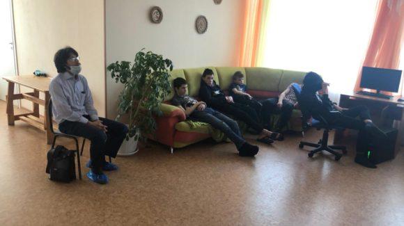 Встреча с воспитанниками петрозаводского Центра помощи детям