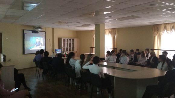 Две лекции, посвященные профилактике курения, в лицее №35 города Казани