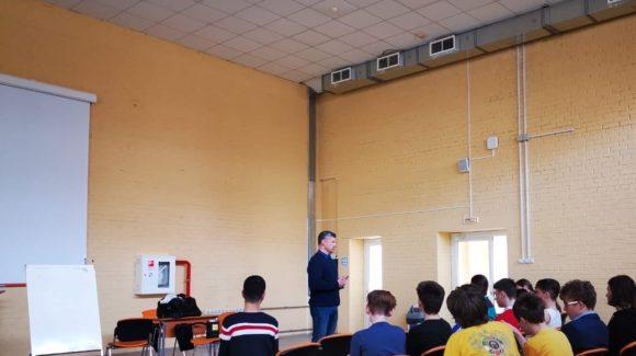 Продолжаются профилактические мероприятия в школе №444 г.Москвы