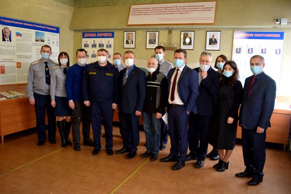 Руководитель Общероссийской общественной организации «Общее дело» встретился с осуждёнными в Рязанской области