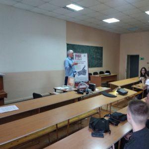 Встреча со студентами первых курсов в Тольяттинском Политехническом Колледже