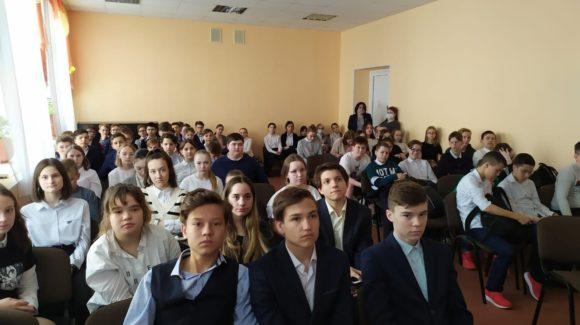 Продолжение профилактической работы с 7-ми классами школы №7 Альметьевска