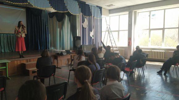 Кино-встреча с учениками 6 класса школы №72 г.Тольятти