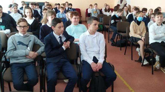 Завершился просветительский блок занятий в школе №7 г.Альметьевска