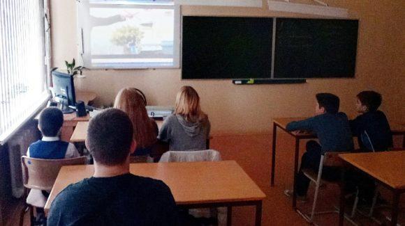 Работа активистов «Общего Дела» в школе №43 и лицее №9 г.Волгограда