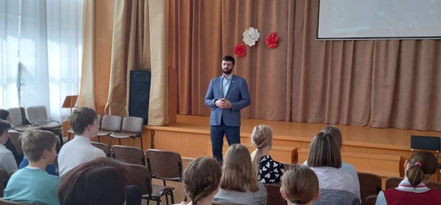 Занятия о цифровой безопасности в школах №14 и 19 города Верхняя Тура