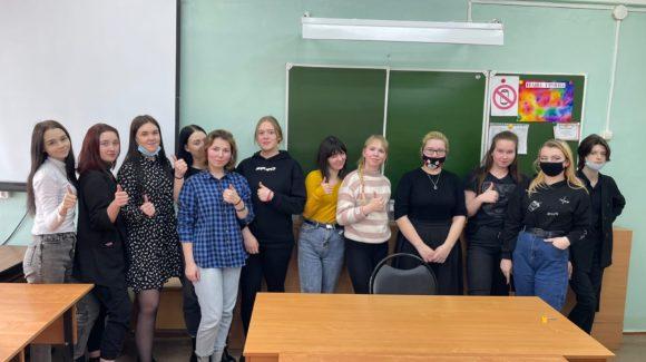 Встреча с учащимися Великоустюгского педагогического колледжа