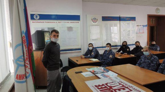 Два занятия с личным составом войск национальной гвардии в Геленджике и Новороссийске