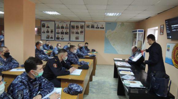 Занятие «Общего Дела» с личным составом войск национальной гвардии в Анапе
