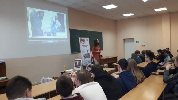 Очередная кино-встреча для первокурсников Тольяттинского политехнического колледжа
