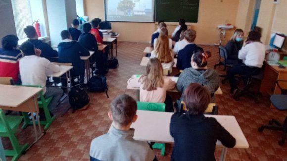 Два урока «Общего Дела» в лицее №9 и еще одно профилактическое мероприятие в школе №50 г.Волгограда