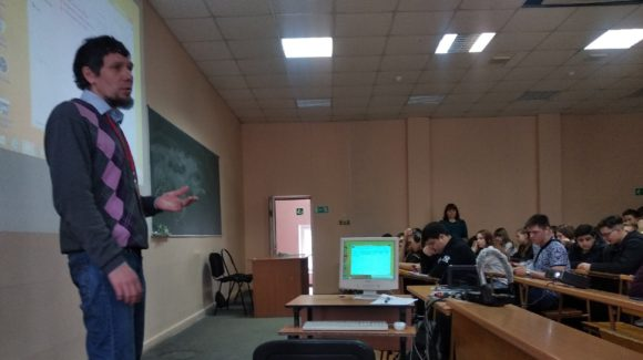 Встреча со студентами Тольяттинского политехнического колледжа
