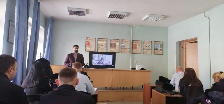 В Екатеринбурге прошла очередная профилактическая встреча с офицерами отдела полиции №12