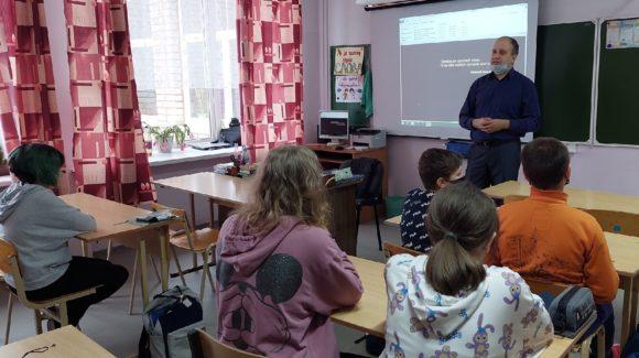 Профилактические мероприятие для учащихся Рыборецкой школы республики Карелия